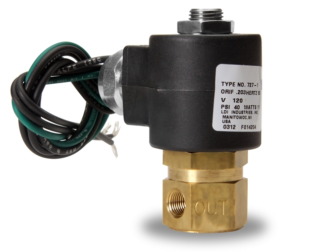Ldi Industries Esv Series Solenoid Shut Off Valve