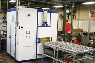Parts washer in Manitowoc facility